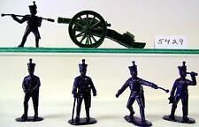 Armies In Plastic 5429 - Nap Wars - Waterloo 1815 - French Line Foot Artillery