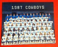 1987 DALLAS COWBOYS Team Picture Photo pic TONY DORSETT HERSCHEL WALKER Heisman