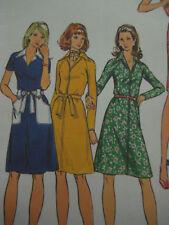VTG Butterick 6944 Women's SHIRTDRESS Sewing Pattern