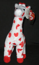 TY SMOOTHIE the GIRAFFE BEANIE BABY - MINT with MINT TAGS
