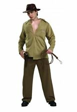 licenced  ADULT MENS INDIANA JONES FANCY DRESS film star  COSTUME Harrison ford