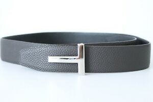 Tom Ford T Icon Reversible Leather Belt, Mens Belt Size XL, 95cm
