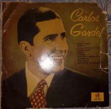 """CARLOS GARDEL SELECCIÓN N 4 VINILO 33 10"""" (ODEÓN 1958) VG/VG"""
