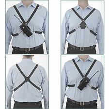 Sangle poitrine klickfast / harnais pour portier / corps de police porté caméra / radios rx2
