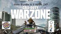 Call of Duty:Warzone ITEMBUNDLE Burgertown + 9 HOURS DOUBLEXP
