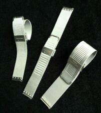Men,Ladies SS Metal watch Strap Band Bracelets SAME DAY DISPATCH Jewelers 18-22