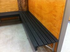 Replas Wall Mounted Bench with Bracket