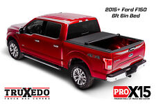 """TruXedo Pro X15 Roll Up Tonneau Cover 2015-2018 Ford F150 6'6"""" Bed 1498301"""