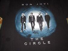 BON JOVI THE CIRCLE TOUR 2010 ROCK CONCERT TOUR SHIRT XL