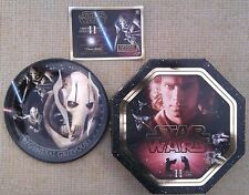 STAR WARS LIMITED EDITION COLLECTOR'S PLATE -  GENERAL GRIEVOUS - BOXED