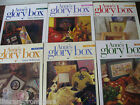 ANNE'S GLORY BOX By GLORIA MCKINNON Set of 6-1 2 3 4 5 6 one two three four five