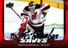 2008-09 Upper Deck Spectacular Saves #5 Martin Brodeur