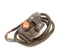Ein Aus Universal Motorrad Lampe Schalter Blinker Lenkerschalter Schwarz *NEU*
