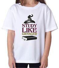 Youth T-Shirt Tee Kids Girls Study Like Granger Hermione Harry Potter Halloween