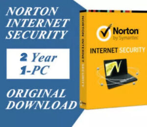 Registered Norton Internet Security 2 Year/1 PC Downloadable Digital Key(GLOBAL)