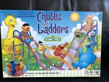Sesame Street Edition Chutes & Ladders Elmo Cookie Monster Board Game