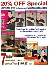 Mastering Wing Chun 7 Dvd Collectors Edition Volume 1, 2, 3, 4, 5, 6, & 7