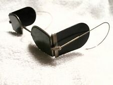 "1870's  ""DOUBLE ""D""   RAILROAD/CARRIAGE SPECTACLES!  SPECTACULAR!! FROM ENGLAND!"