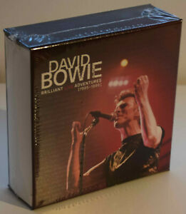 DAVID BOWIE BRILLIANT LIVE ADVENTURES CD empty Box Set - no CD included - Sealed
