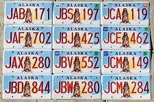 Alaska License Plate - Standing Bear - Pick Your Plate