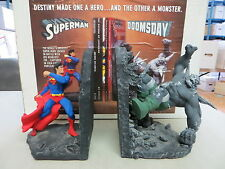 DC DIRECT SUPERMAN DOOMSDAY BOOKENDS STATUE PAQUET ZP