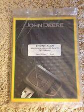 John Deere Operator's Manual 430 (Serial 12815) 460 (Serial 13118) Loaders