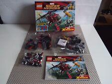 LEGO MARVEL SUPER HEROES 6866 WOLVERINE'S CHOPPER SHOWDOWN NEW in Opened Box