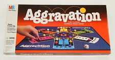 Aggravation Board Game by Milton Bradley MB 1989 Complete