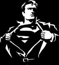 SUPERMAN Vinyl Decal - Sticker Car Truck SUV Van Bumper Wall Laptop Clark Kent