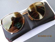 Vintage VUARNET 040 OR Gold?  Sunglasses SKILYNX ? Mineral  lens retro? 50-19