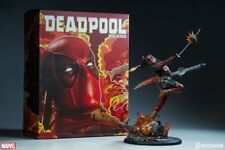 ★ STATUE DEADPOOL HEAT-SEEKER - MARVEL X-MEN - PREMIUM FORMAT SIDESHOW-EN STOCK★