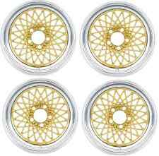 1967 - 1992 TRANS AM GTA 16X8 WHEEL SET GOLD - ZERO OFFSET NEW! SET OF 4