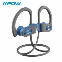 Mpow Flame Bluetooth Headphones Earbuds Sport Bass Running Headset Sweatproof