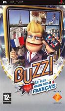 Jeu  PSP BUZZ ! Le plus malin des Français Neuf