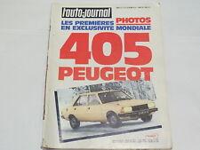 Documentación automóvil - L'Auto Journal : 1er Abril 1977