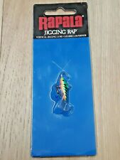 Rapala Jigging Rap  W2 Green Glow Tiger GT NIB Bass Pan Fish Walleye Trout Lure