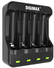 DIGIMAX U4 SMART FAST LED AA/AAA CHARGER 1-4 RECHARGEABLE BATTERIES NiMH/NiCD