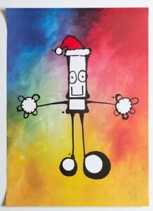 My Dog Sighs / Christmas Signed Print / Ltd Edition /250 / Sold Out