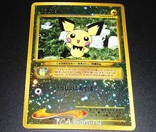 Pichu No. 172 JAPANESE Neo Binder 2 Discovery PROMO Set Pokemon Card NEAR MINT