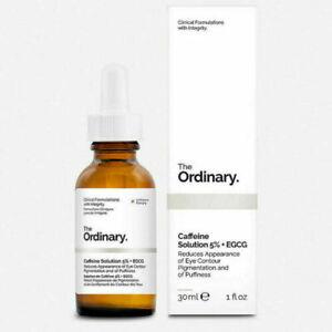 The Ordinary Caffeine Solution 5% EGCG 30mL 1fl oz. For Eye Puffiness