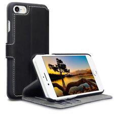 Terrapin basso profilo PU Pelle Portafoglio Caso Per Apple iPhone 7/8 - Nero