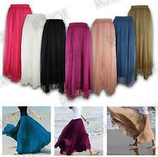 Polyester Full Length Skirts Plus Size for Women