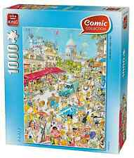 1000 Piece Comic Cartoon Collection Jigsaw Puzzle Gerald Como - PARIS 05185