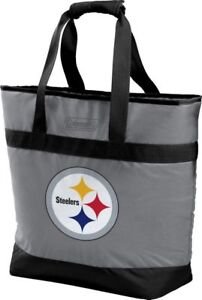 Pittsburgh Steelers NFL Coleman Grocery Getter Insulated Tote - New with Tags