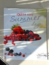 SLIMMING WORLD EXTRA EASY SUMMER DAYS OVER 50 RED GREEN & EX EASY RECIPES EX CON