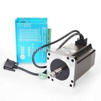 Leadshine 300W 8.2A CNC Hybrid Servo Driver Set HBS86 Drive & 86HS80-EC Motor