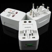 Worldwide Universal Travel Power Plug Charger Adapter Converter AU/UK/US/EU Hot