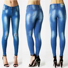Cotton Blend Indigo, Dark wash Jeans Size Petite for Women