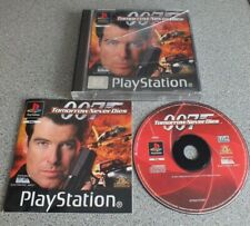 007 TOMORROW NEVER DIES Sony PlayStation 1 PAL PS1 Vintage Game