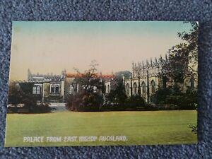 Palace From East, Bishop Auckland Gem Series Postcard, No 441